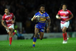 Short-term signing James Segeyaro saved Leeds Rhinos' bacon three years ago. PIC: Jonathan Gawthorpe