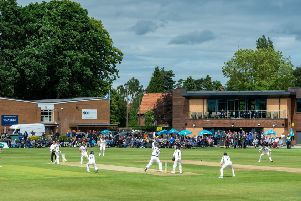 Yorkshire v Warwickshire at Clifton Park earlier this week.' Picture: Bruce Rollinson