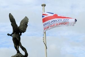 Armed Forces Day in Leeds on Saturday, June 29.