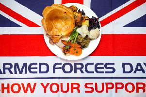 Toby Carvery is showing its support for the armed forces by inviting military personnel across Leeds to join them for a free breakfast or carvery meal on Armed Forces Day.