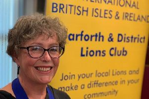 Garforth and District Lions Club appoints first female president