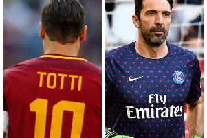 Leeds United fans have reacted to the Buffon and Totti links