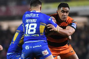 Castleford Tigers' Junior Moors is out for the season.' (Picture: Jonathan Gawthorpe)