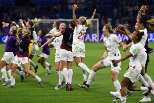 England could face Holland or Sweden in their first World Cup final if they beat the USA (Photo: Getty Images)