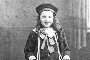 Yvonne van den Broeck, a Belgian child who came to Otley with her parents, sister and two brothers.'Photograph courtesy of Otley Museum.