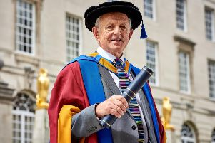 Keith Wakefield OBE has been awarded an Honorary Doctorate from Leeds Beckett University.