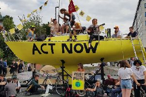 Officers across West Yorkshire have had to cancel rest days in order to police the Extinction Rebellion protest.