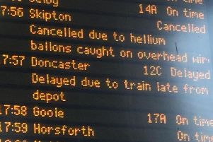 Trains cancelled