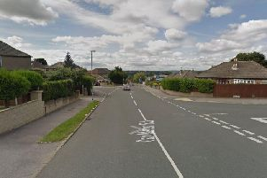 The burglary took place on Carr Manor Road. Photo: Google.