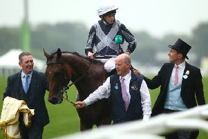 Ryan Moore aboard Circus Maximus at this year's Royal Ascot. Picture: Charlie Crowhurst/Getty Images.