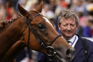 Misty Grey's trainer, Mark Johnston. Picture: Alan Crowhurst/Getty Images.
