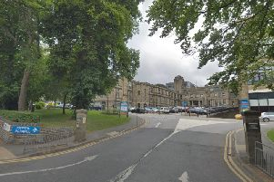 Bradford Royal Infirmary, one of the two hospitals where medical staff are striking in a row over jobs being outsourced
