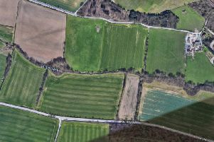 Part of the space between Fleet Lane and Methley Lane, above, is set for development. (Credit: Google maps)