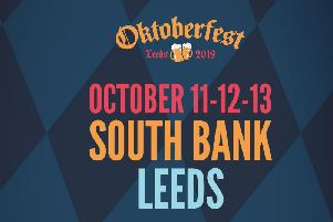Octoberfest is returning to the city centre.