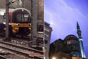 Trains from Leeds are being cancelled today due to lightning strikes