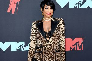 """Sandra """"Pepa"""" Denton at the MTV Video Music Awards 2019 held at the Prudential Center in Newark, New Jersey: PA Wire"""