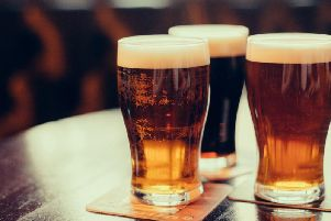 The price of beer has risen by 10p in the last year.