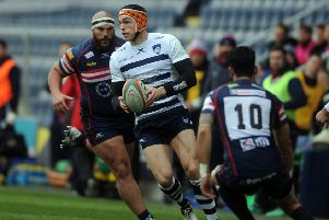 Yorkshire Carnegie Chris Elder playing against Doncaster Knights last season (Picture: Tony Johnson)