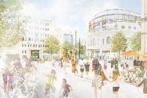 The plans include an expanded pedestrianised City Square.