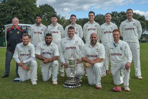 Woodlands were confirmed Bradford League Premier Division champions for 2019 at the weekend. PIC: Ray Spencer