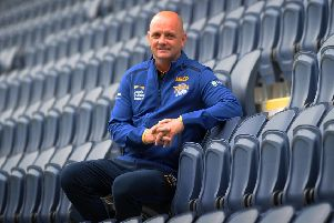 New Leeds Rhinos head coach Richard Agar.