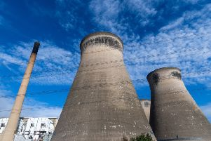 Ferrybridge 'C' Power Station, Knottingley, West Yorkshire.'Picture James Hardisty.