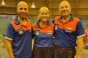 Leeds table tennis aces strike gold at veterans' national championships