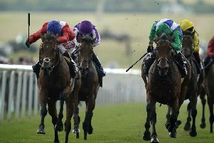 Newmarket winner Veracious (left) is due to reappear next month.