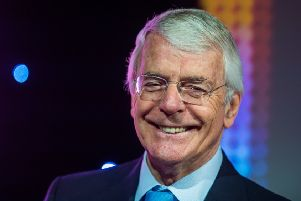 Sir John Major never diminished the office of Prime Minister.
