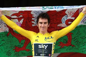 2018 Tour de France nhero Geraint Thomas is due to compete in this week's world championships.
