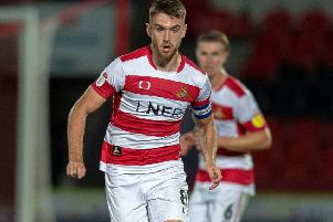 Ben Whiteman of Doncaster Rovers (Picture: Bruce Rollinson)