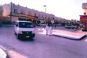 The scene near to the Haffa market in Salalah, Oman, where two British tourists were killed. Pictures supplied by Irwin Mitchell Solicitors.