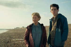 Annette Bening and Josh OConnor in Hope Gap. Credit: Screen Yorkshire and Origin Pictures.