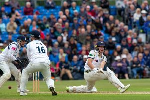 TOP MAN: Yorkshire's Gary Ballance .' Picture: Bruce Rollinson