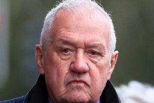 Hillsborough match commander David Duckenfield pictured arriving at Preston Crown Court on Monday October 7.'Photo: Peter Byrne/PA Wire