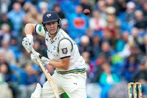 TEST CANDIDATE? Yorkshire's Gary Ballance could feature again on the international stage, says Martyn Moxon.' Picture: Bruce Rollinson
