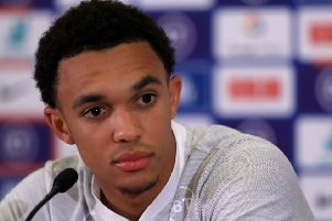 England's Trent Alexander-Arnold: 'We need to improve.'