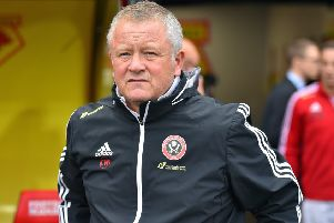 Sheffield United manager Chris Wilder: Timely warning.