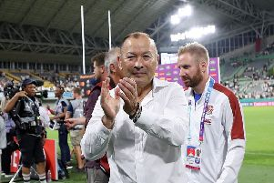 Eddie Jones: Believes World Rugby were right to postpone England's game with France. (Picture: PA)