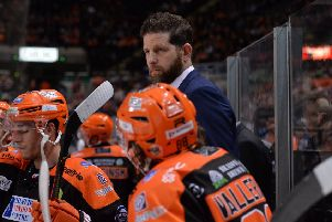 TOUGH WEEKEND: Sheffield Steelers' head coach and GM, Aaron Fox. Picture: Dean Woolley.