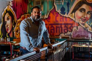 Aftab Ali, who has acquired the Cat's Pyjamas restaurant in Headingley. Date: 8th October 2019. Picture James Hardisty.