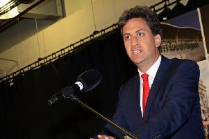 Doncaster North MP Ed Miliband. Pic: Marie Caley