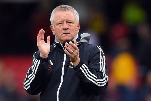 Sheffield United chief Chris Wilder: Thanks the fans.