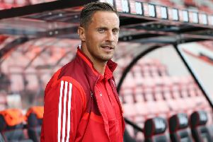 Sheffield United's Phil Jagielka: First showed his Premier League quality against Arsenal 16 years ago, said manager Chris Wilder.