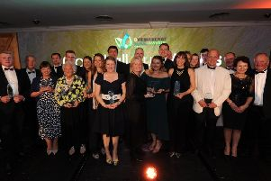 The winners of The Yorkshire Post's 2019 Rural Awards, sponsored by Bishop Burton College. Picture by Gerard Binks.