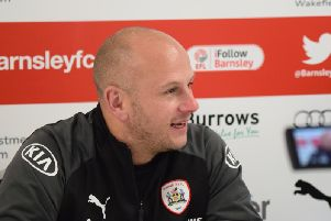 Barnsley FC caretaker manager Adam Murray.