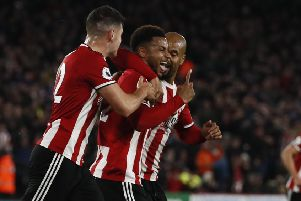 Lys Mousett of Sheffield Utd celebrates scoring. Picture: Simon Bellis/Sportimage