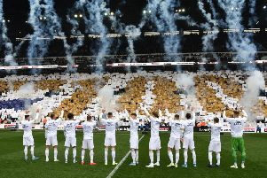 Leeds United celebrate their 100th birthday