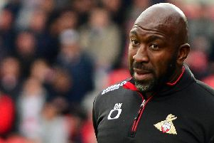 Doncaster Rovers manager Darren Moore: Wary.