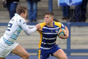 Yorkshire Carnegie's Dan Lancaster isback in the line-up for Friday's clash at London Scottish. Picture: Steve Riding.